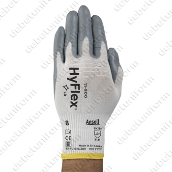 Safety gloves ANSELL HyFlex® 11-800