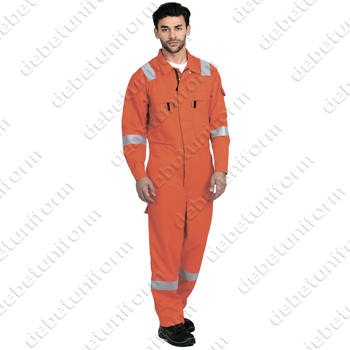 Firefort® IFR antistatic summer coverall made with DuPont™ Nomex® Comfort