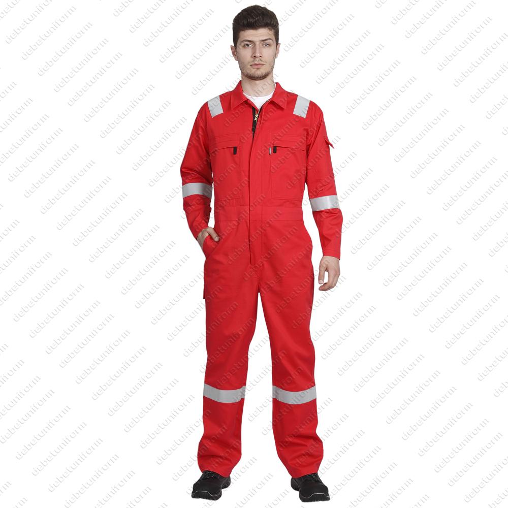 9fe58e76f7c4 Firefort® flame retardant antistatic lightweight cotton coverall ALPHA