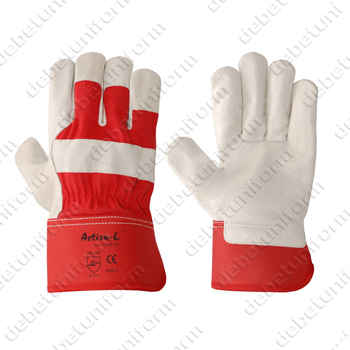 Rigger gloves Action-L™ 605618 (grain cowhide leather)