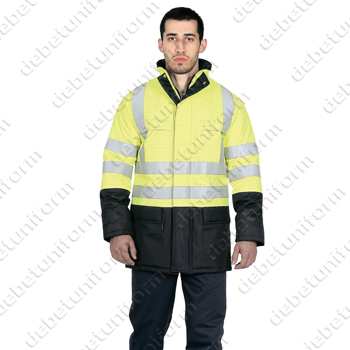 Firefort® flame retardant antistatic water resistant winter jacket ULTRA