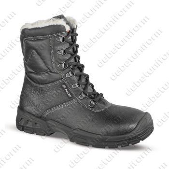 Safety boots AIMONT KNUT S3 CI SRC, black
