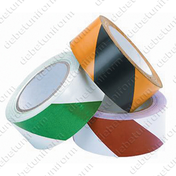 Hazard self-adhesive tape