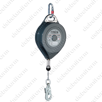 Retractable type fall arrester PROTECTOR® AN116ATEXT (galvanised cable 25 m + c/w 1 carabiner AM002)