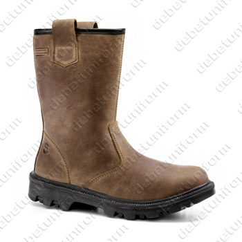 Safety rigger boots SECOR® BULL S3 HRO SRC CI, brown