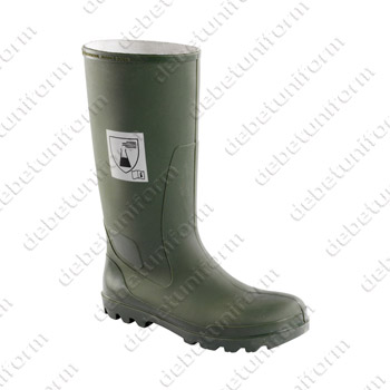 Safety wellington boots CHIMIE SA S5 HRO SRC (chemical resistant), green