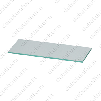 Welding faceshield anti-spatter lens 633-04, clear, 108 x 50 mm
